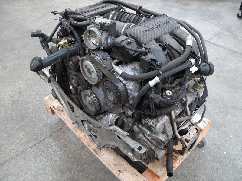 Porsche Carrera 911 996 3 4l Complete Engine Motor 3 4