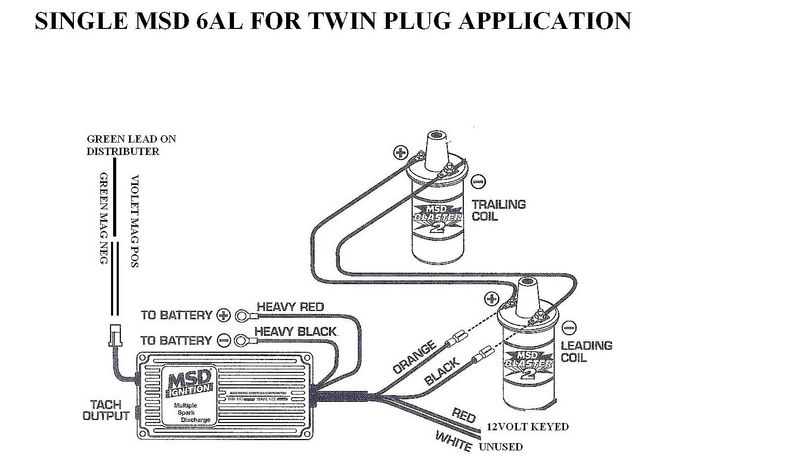 Msd Ignition 6al 6420 Wiring Diagram - Wiring Solutions