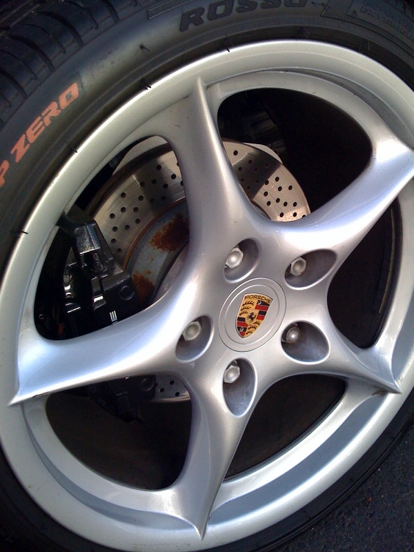 Wtb Porsche Carrera 5 Spoke My02 Carrera 996 18 Quot Wheels