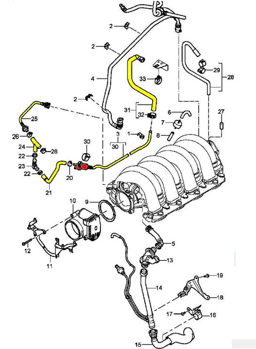 2000 Bmw 540i Engine Diagram further Vacuum For Home further Porsche Boxster Hose Parts Diagram besides Oil Filter Location For Mazda 6 2003 likewise 2 3 Linear Saab Engine Diagram. on saab water pump problems