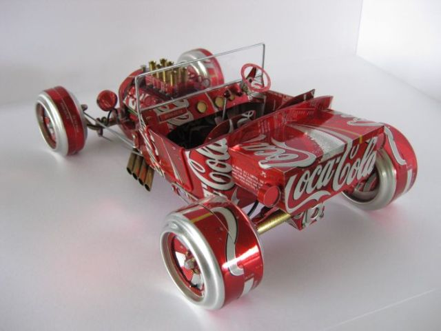 Got Beer Cans And Time On Your Hands Beer Can Car Models