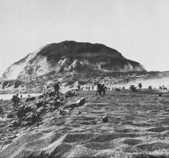 Briefe Von Iwo Jima : Iwo jima today