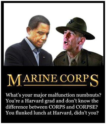 Obama corps and corpse