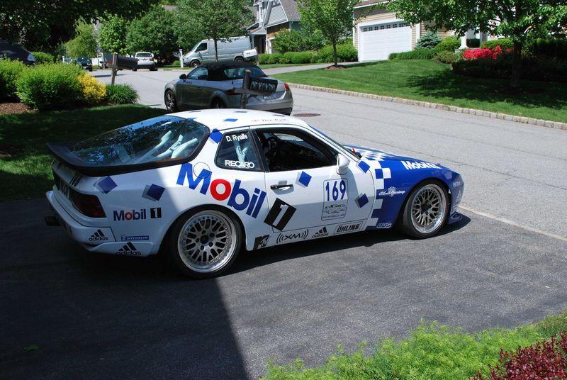 Porsche 944 escort cup
