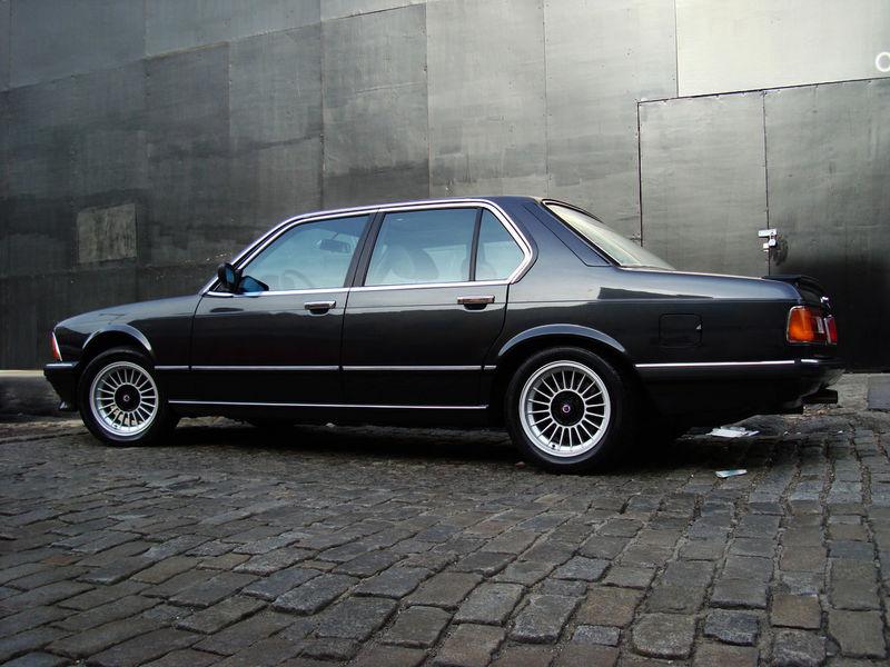 1984 BMW 745i Turbo Euro Question