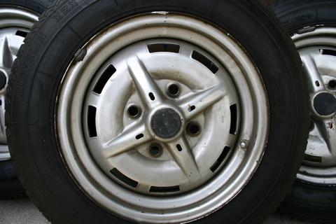 Fs 5 Original Matching Steel Wheels Pelican Parts