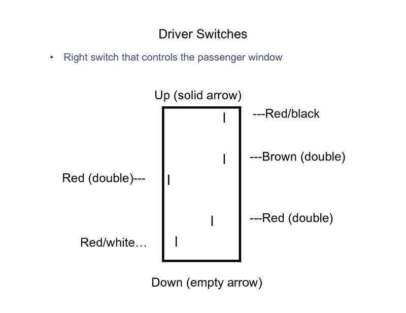 1974 porsche 911 window switch wiring
