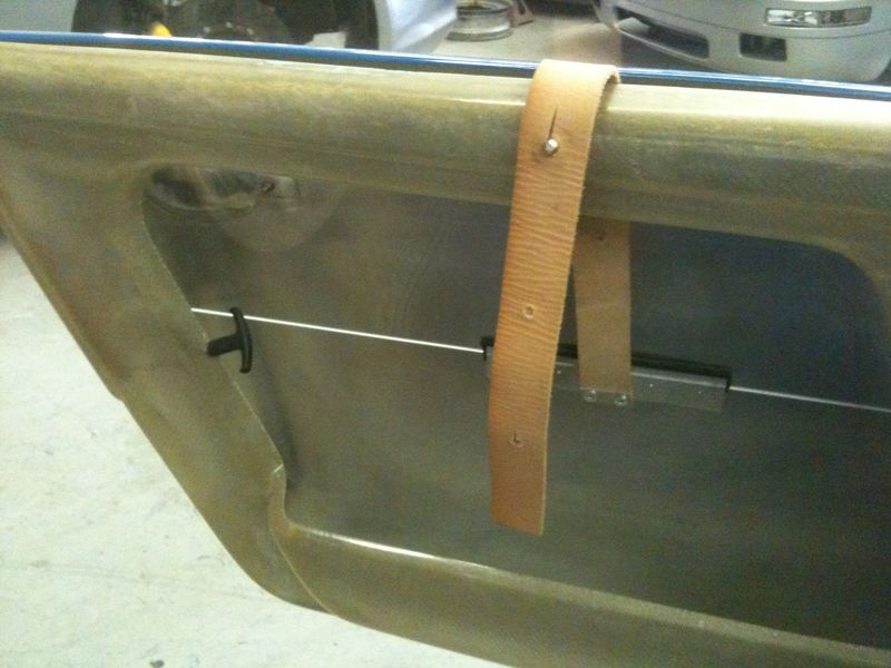 ... in the door and put a strap on the bottom of the window to pull it up and hook the strap to hold the window up. Some vintage European racecars do this. & Is it possible or has it been done. - Yellow Bullet Forums
