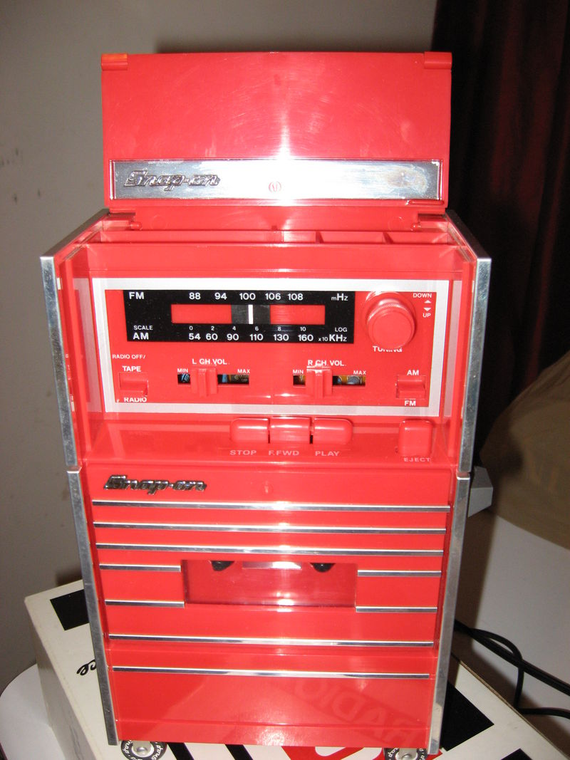 Snap-On toolbox radio - Pelican Parts Technical BBS