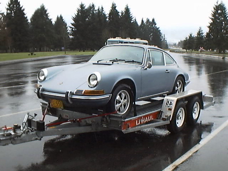 Towing 911 On Car Carrier Backwards Pelican Parts