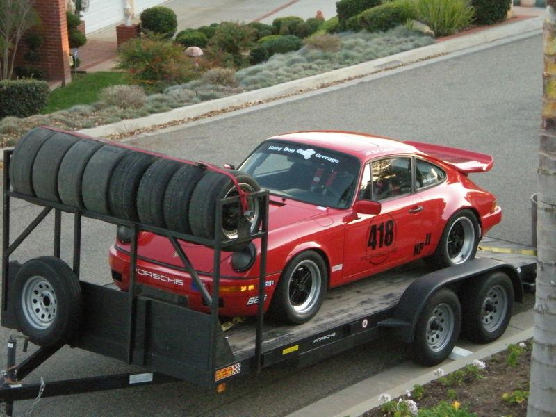I M Having A Tire Rack Custom Built On My Open Trailer