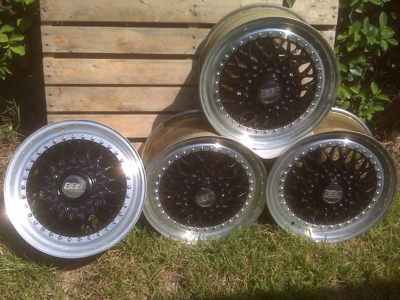 Set Of 4 Three Piece Bbs Rs 8x16 Wheels Pelican Parts