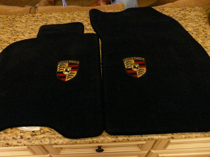 As New Lloyds Porsche Crest Black 911 993 Pelican