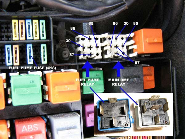E36 1994 325is Crank But No Start Solvedrhbimmerforums: E38 Fuel Pump Relay Location At Gmaili.net