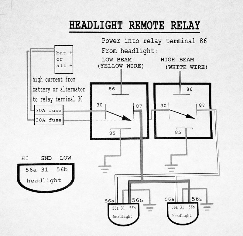 fog light wiring diagram relay images 911 h4 headlight wiring diagram get image about wiring diagram