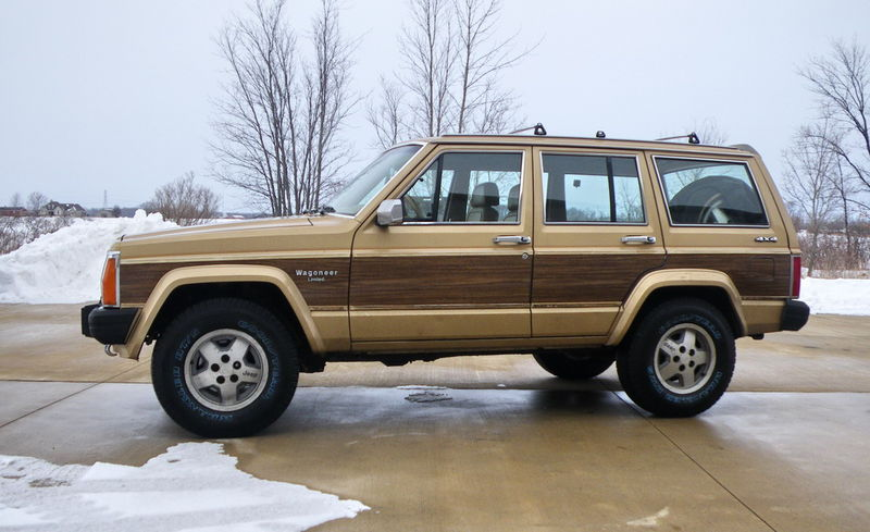 1987 Jeep Wagoneer Limited Parts