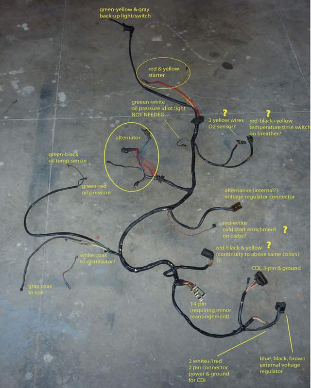 Wire harness plug porsche 911