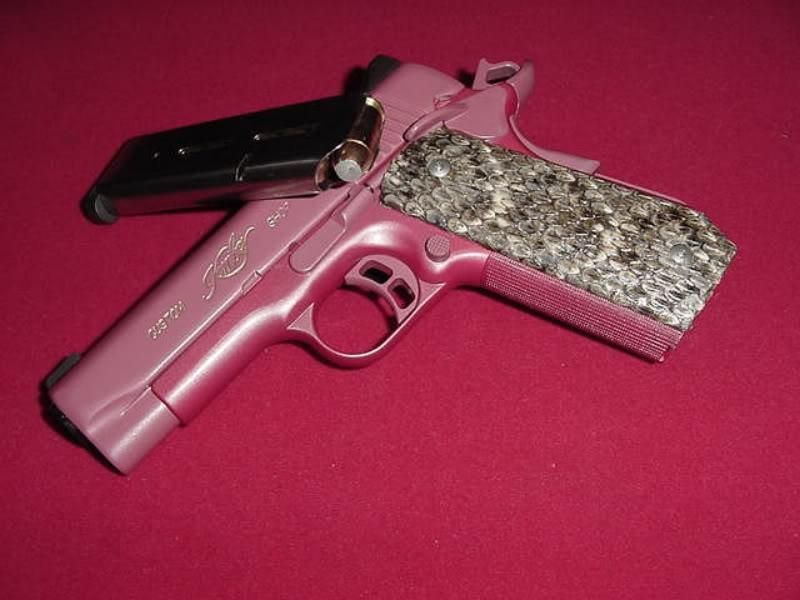 bedazzled pistol