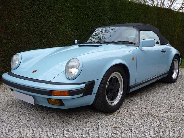 Porsche 911 Carrera 3 2 Speedster Narrow Body And Low