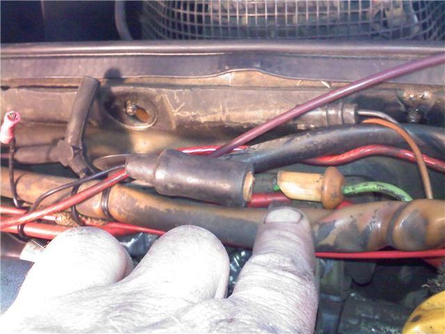 starter motor wiring connector pelican parts forums rh forums pelicanparts com