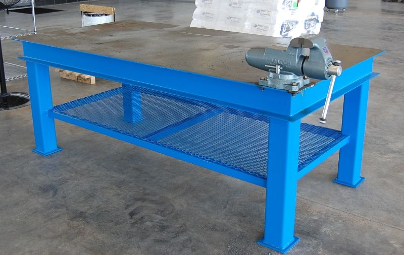 Homemade Steel Welding Bench