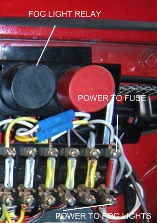 fog light fuse wires pelican parts technical bbs