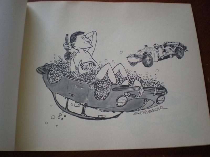 Howard Shoemaker S Porsche Cartoon Book For Sale Pelican
