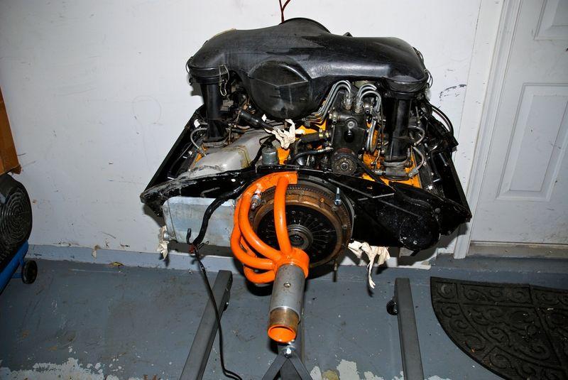 1972 Porsche 911t Mfi Engine