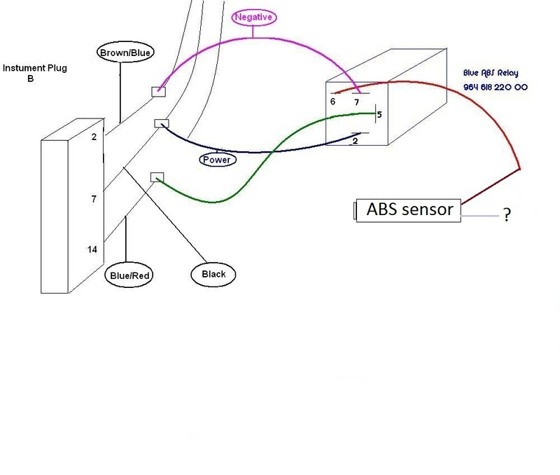 I Don't Have The Abs System Anymore Just Hubs And Sensor Can Make Speedo Work Like This: Porsche 964 Abs Wiring Diagram At Hrqsolutions.co