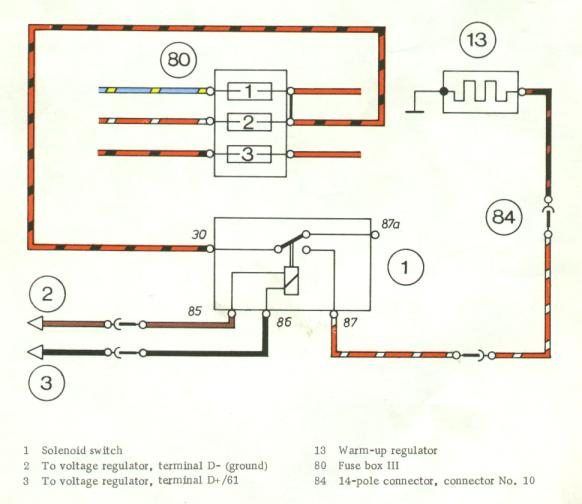 porsche fuel pump wiring 91 240sx fuel pump wiring diagram '73 cis fp relay ok for '77 cis?? - pelican parts ... #8