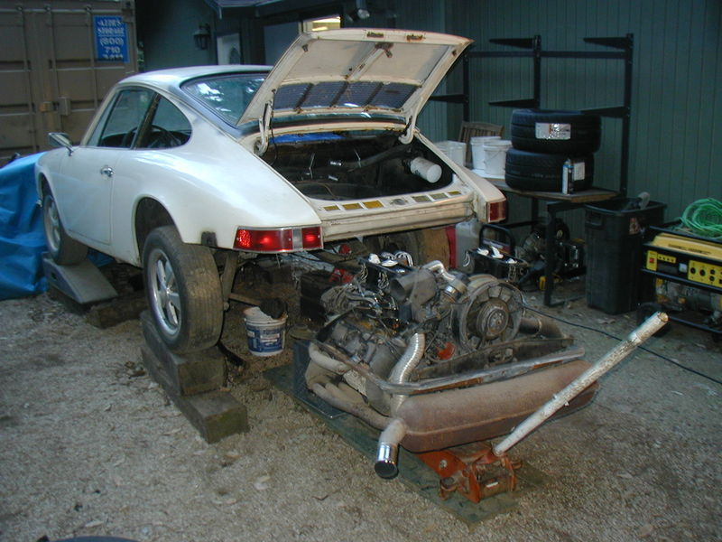 Show Me Your Engine Removal Without Using A Lift Shots Pelican Parts Technical Bbs