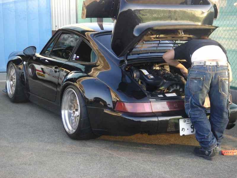Porsche 911 fenders