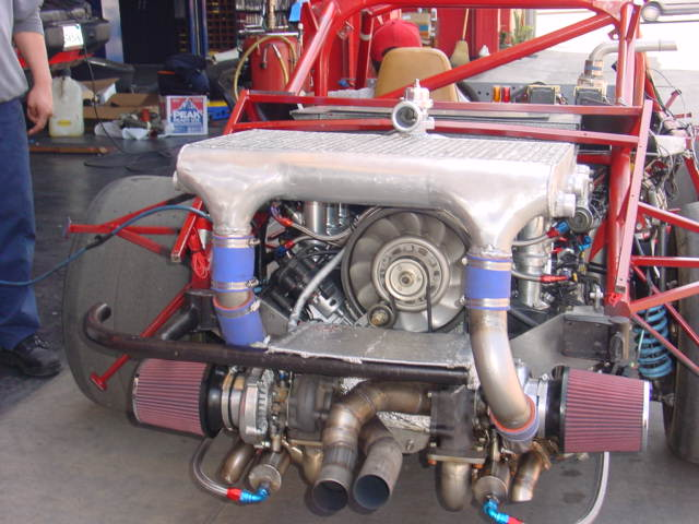 4 0 Aircooled 964 Twin Turbo Engine