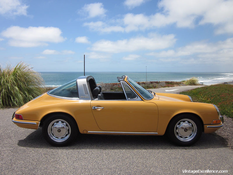 1969 Porsche 912 Targa Bahama Yellow Pelican Parts