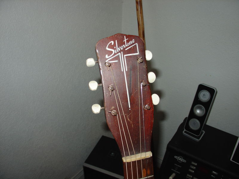1957 silvertone archtop acoustic what do you all know pelican parts forums. Black Bedroom Furniture Sets. Home Design Ideas