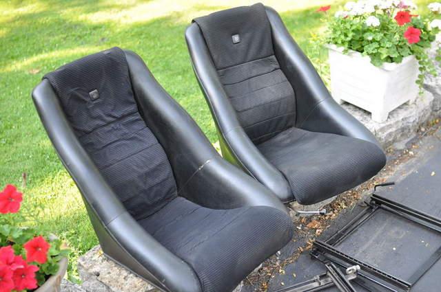 Pair Vintage Scheel 300 Seats With Tilts Sliders Fs