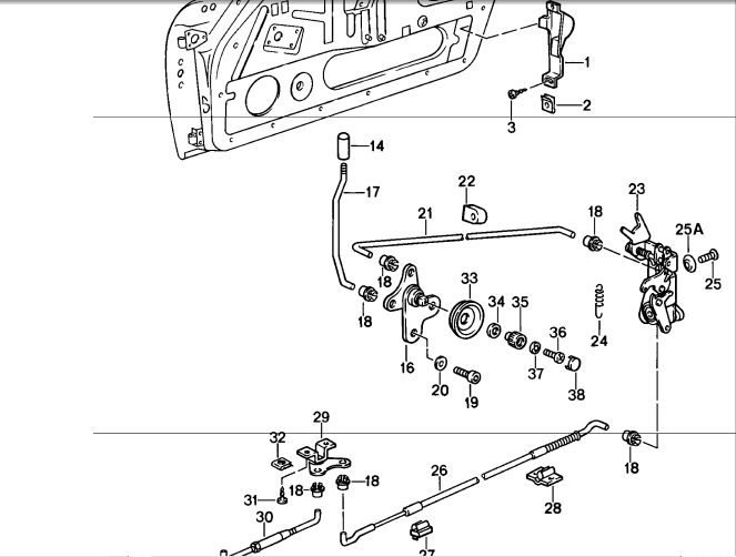 Fuse Box For 1995 Ford Probe Ford Auto Wiring Diagram