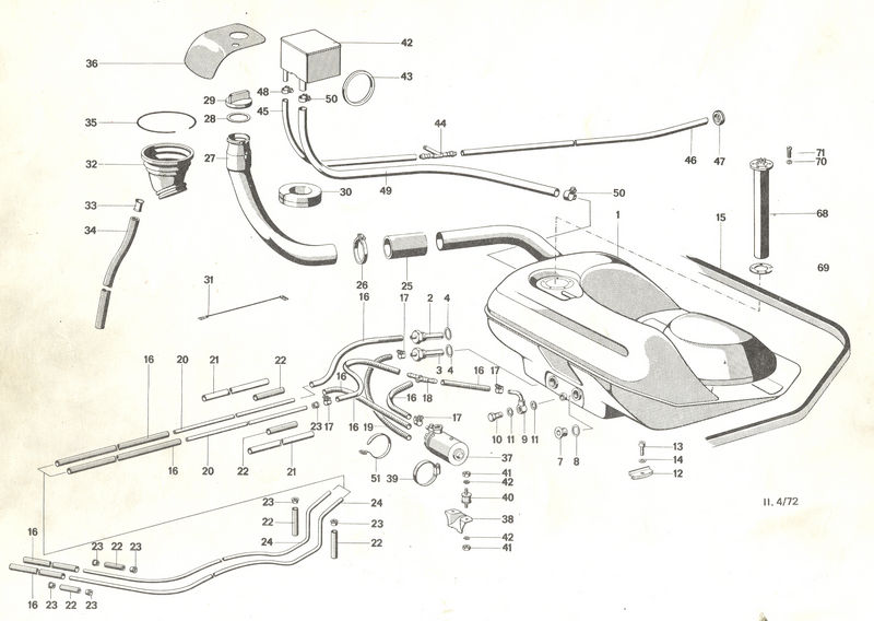 1969 roadrunner ke line diagram