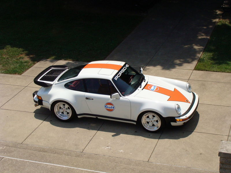 gulf racing livery on my 930 feedback pelican parts