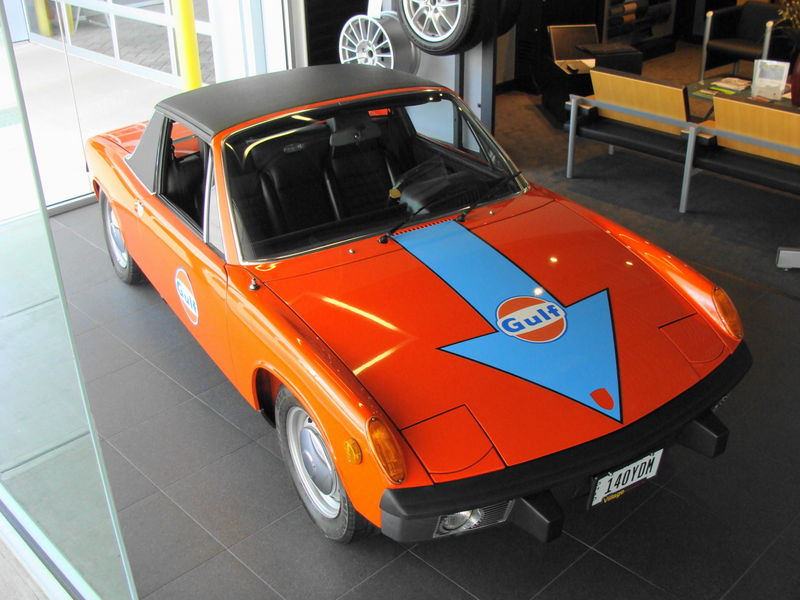 Gulf Stripes On A 914 Feedback Pelican Parts Technical Bbs