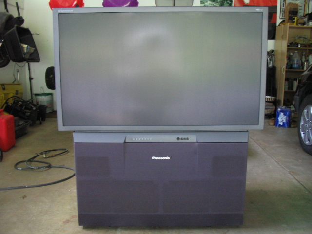 Mitsubishi 55 Quot Hdtv Rear Projection Tv Images Frompo