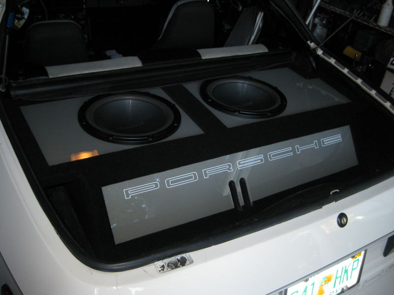 Porsche Sub Box Complete D Pelican Parts Forums