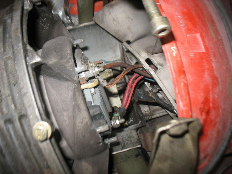 alternator wiring question pelican parts forums rh forums pelicanparts com 1987 Porsche Alternator Wiring porsche 911 sc alternator wiring