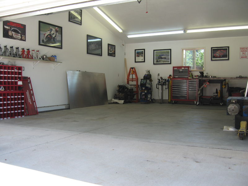 Awesome 2 Car Garage Workshop Ideas Selection