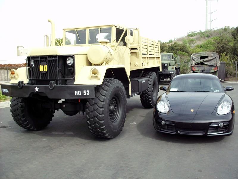 Bobbed 5 Ton Military Truck