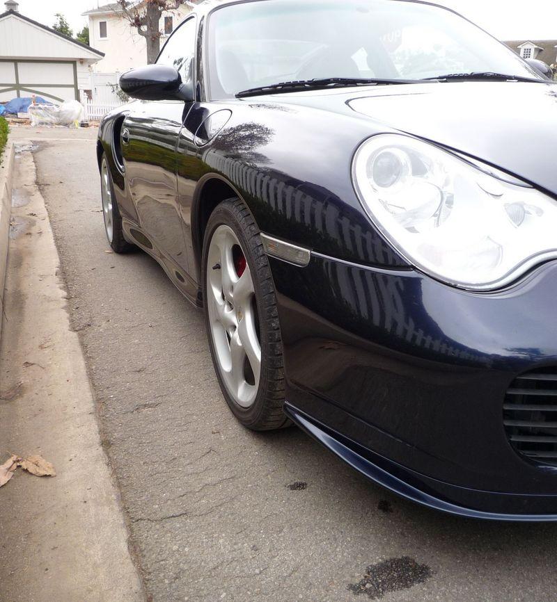 2002 Porsche Turbo Midnight Blue/grey 36,000