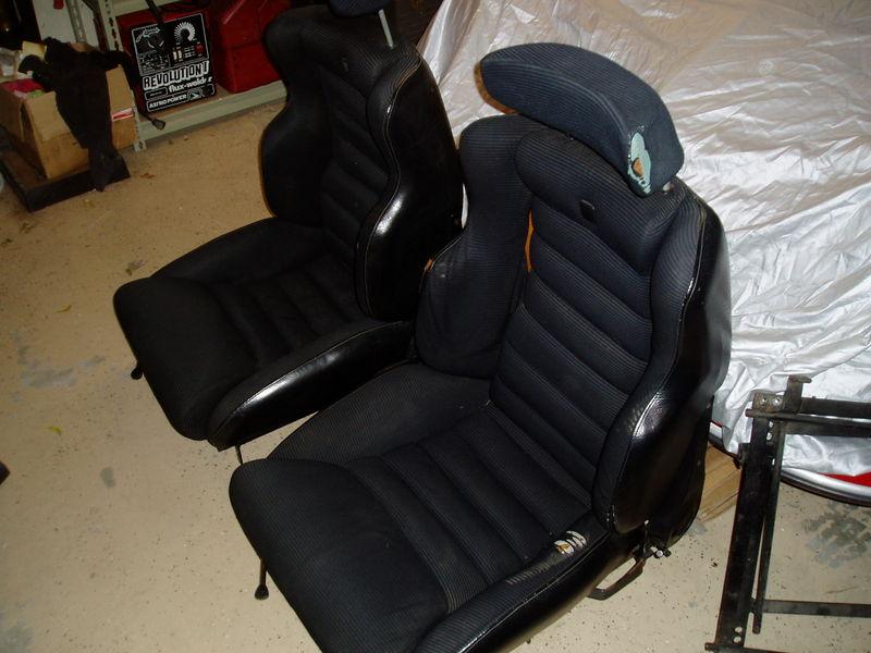 Scheel Mann Sport Seats For Sale Pelican Parts Forums
