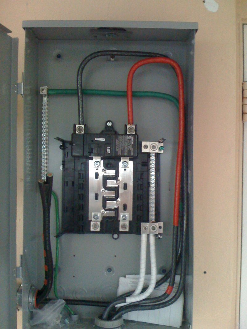 Attractive 60 Amp Sub Panel Wire Size Festooning - Wiring Diagram ...