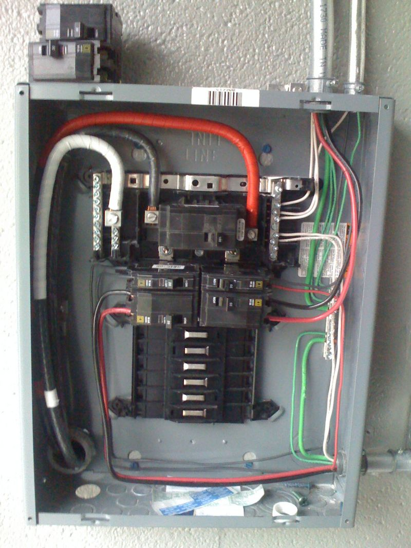 off main sub panel wiring diagram electrical sub panel