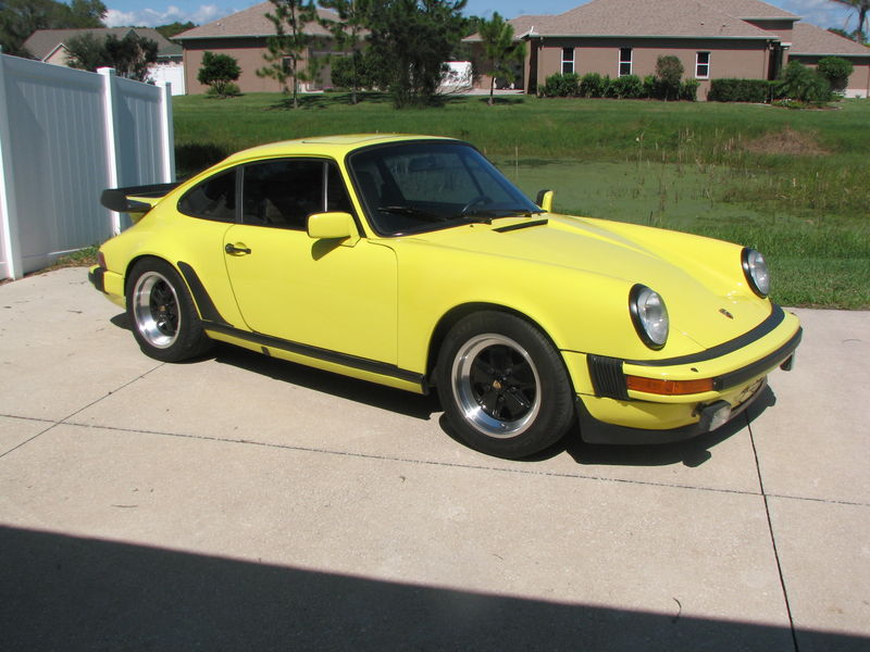1982 911Sc coupe yellow/trade spec 944 - Pelican Parts Technical BBS
